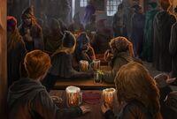 Ron, Hermione et leurs Bièraubeurres