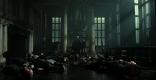 Voldemort w salonie Malfoyów