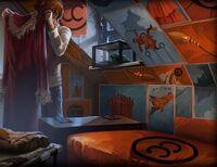 Chambre de Ron Weasley