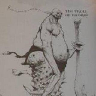 Тролль из Надрож. Иллюстрация в Чудовищной книги о чудовищах