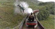 Ford Anglia e Expresso de Hogwarts