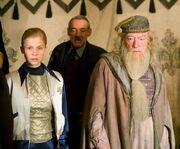 Delacour, Crouch e Dumbledore