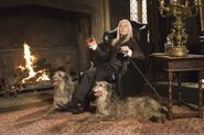 Lucius Malfoy by fire