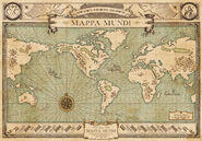 MinaLima Store - Newt Scamander's Mappa Mundi