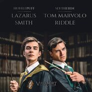 Cover Hufflepuff Slytherin