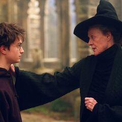 Макгонагалл разговаривает с Гарри