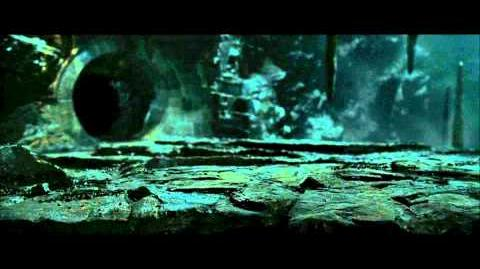 Harry Potter and the Deathly Hallows part 2 - the ride to Belatrix's vault