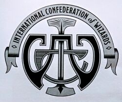 International Confederation of Wizards logo