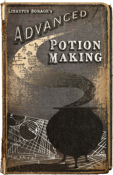 photo relating to Harry Potter Potion Book Printable named Severus Snapes reproduction of State-of-the-art Potion-Producing Harry
