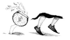 Le Sorcier et la marmite sauteuse