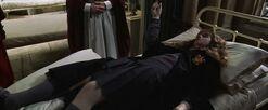 Petrified Hermione