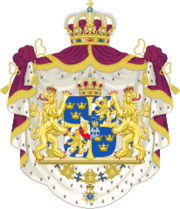 Greater coat of arms of Sweden