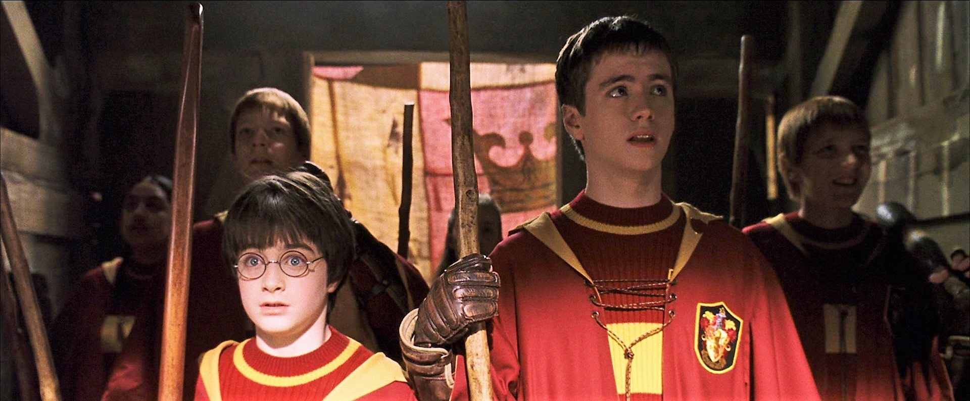 Gryffindor vs Slytherin Quidditch match (1991) | Harry Potter Wiki ...