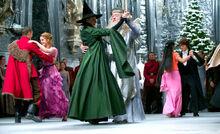 Minerva McGonagall et Albus Dumbledore Ball