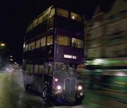 Fnattbussen i fart