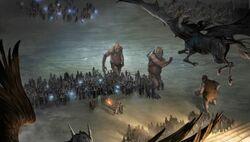 Hogwarts Big Battle at Hogwarts Moment Pottermore