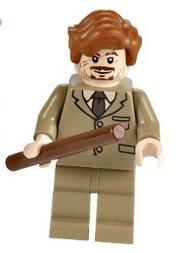 Remus Lupus som en lego minifigur 2011