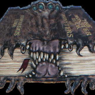 Концепт-арт с указанием автора книги