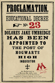 Educational Decree Number 23
