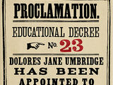 Educational Decree Number Twenty-Three