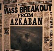 Profeta Diário - Fuga de Azkaban