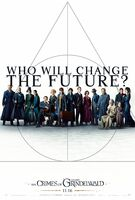 Crimes of Grindelwald Change the Future Poster