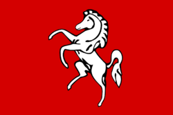 Flag of Kent, графство
