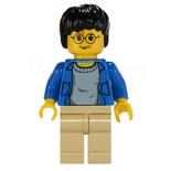 Lego Harry niebieski