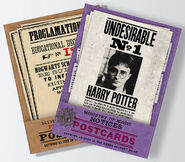 MinaLima Store - Ministry of Magic Postcards - Complete Collection