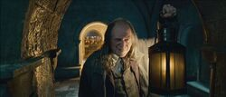 Argus Filch in the Dungeons