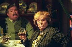 HP Vernon Dursley and Marge