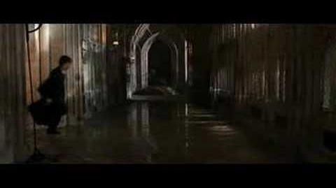 "Harry Potter- ""The chamber of secrets has been opened"" scene"