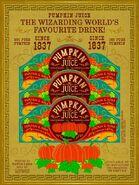 Pumpkin Juice Advertisement