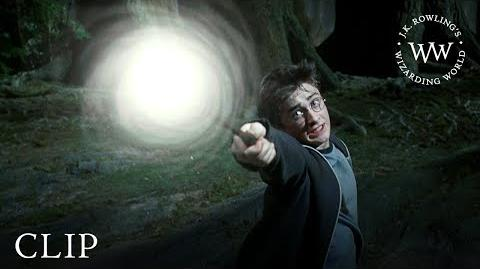 'Expecto Patronum' Harry Fights the Dementors Harry Potter and the Prisoner of Azkaban