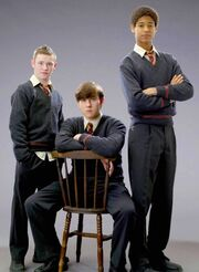 Neville, Dean, and Seamus-ootp