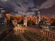 Stade de quidditch americain