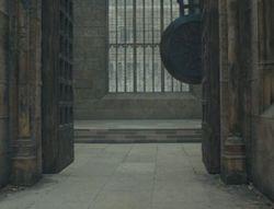 Entrada da Torre do Relógio