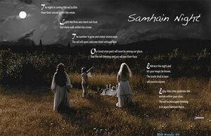Samhain night wallpaper by foreverunseen