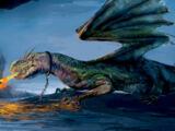 Валлийский зелёный дракон