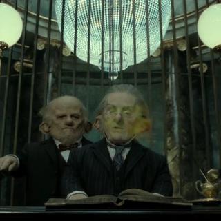 Гарри использует заклятье Империус против Богрода