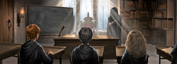 Defence Against the Dark Arts lesson-0