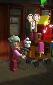 Matvognheksa lego harry potter år 1-4