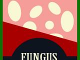 Fungus-covered peanuts