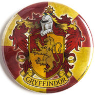 MinaLima Store - Gryffindor House Crest Badge
