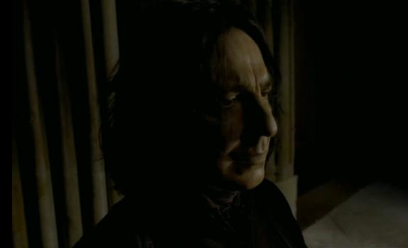 Snape Profile (HBP Film Deleted Scene)
