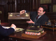 Jacob dans le bureau de Bingley