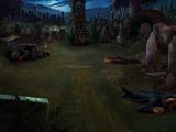 Little Hangleton graveyard