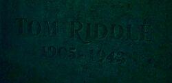 Tom Riddle Sr. grave