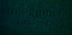 Tom Riddle Sr. grave