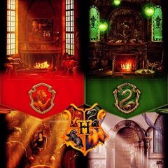 Гостиные четырёх факультетов